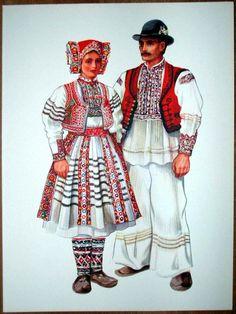 Croatia Folk Costume - Recica