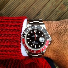 "Rolex GMT-Master II ""Coke"" sent in by @excellencebydanny #Padgram"
