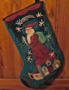 santa-stocking by woods and water (Ann Willey), via Flickr
