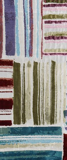 Detail of Palenque fabric by MissoniHome collection 2014