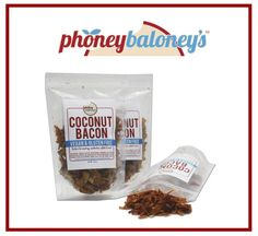 Phoney Baloneys Coconut Bacon | 5 Vegan Foods to Try Now! #vegan -- WHAT IS THIS SORCERY?!