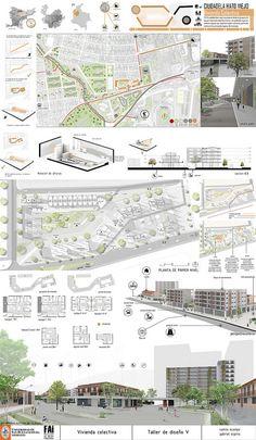#Prancha Arquitetura_#Architect Presentation_memoria final taller V | por camilo ocampo