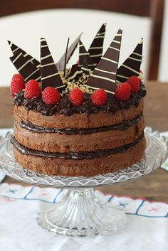 Try Andrew's jazzed up chocolate cake from the Great British Bake Off Final!