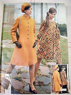 1960s A Line Coats