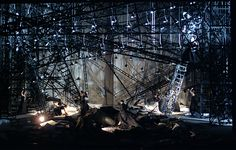 "Set Design by Michael Levine, from ""Walkure"" by the Canadian Opera Company (LX)"