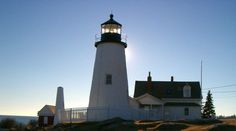 "lighthouses pictures | ... Doesn't ""Freeze"" Restoration Plans at Pemaquid Point Lighthouse"