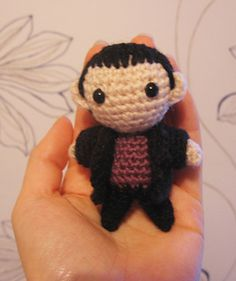 Chibi (small) Ninth Doctor by Vilma Ilona | FREE PATTERN DOWNLOAD at Ravelry