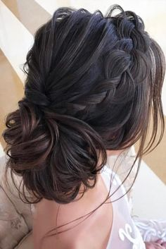 30 Great Hair Updos for Christmas ★ Braided Updo for Christmas Party Picture 2 ★ See more: http://glaminati.com/great-hair-updos-christmas/ #updohair #christmashairstyles
