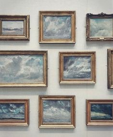 Cloud Gallery Wall: - Constable and Cloud Studies at the Yale Centre for British Art from the wonderful gallery of Memes Arte, Arte Fashion, Fashion Beauty, Art Hoe, Photo Instagram, Oeuvre D'art, Graphic, Art Inspo, Art Photography