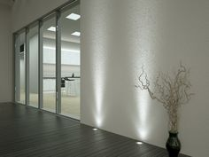 If you want to emphasize the wall surfaces from below up, you can easily do it with Lights. Outdoor lighting fixture Velmu is a great option for that.