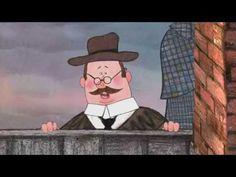 Шерлок Холмс и чёрные человечки, 34 мин., без субтитров