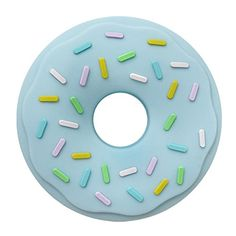 Amazon.com : Silicone Donut Teether Food Grade BabyTeether BPA Free Baby Toy DIY Crafts Teething Teether Necklace Pendant (Quartz Blue) : Baby