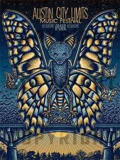 Title: Austin City Limits Festival Poster artist: Todd Slater Edition: Offset Edition Year: 2017 Type: Limited edition screen printed poster Size: 18 x 24 Location: Austin, TX Venue: Zilker Park Screen Print Poster, All Poster, Poster Prints, Acl Festival, Festival 2017, Zilker Park Austin, Austin City Limits, Music Fest, Festival Posters