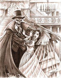 The Phantom Of Phantom Manor And Poor Melanie Ravenswood