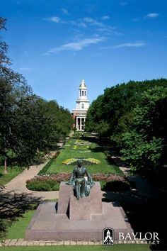 Beautiful #Baylor University -- my alma mater!