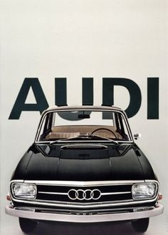Vintage Audi Poster | AisleOne in Concept