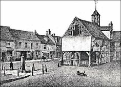 A market house formerly stood in the Market Square, a building of the type open at the ground floor and with office accommodation above.. It is said to have been built in 1707 and was demolished in 1861.