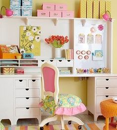 Kids beautiful Work Area