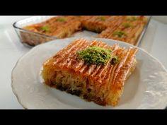 Δεν έχω φάει τόσο ωραίο επιδόρπιο πριν από το θρυλικό επιδόρπιο κουρτίνας Baklavalık yufka με σιμιγδ - YouTube Bosnian Recipes, Baklava Recipe, Bon Dessert, Kinds Of Desserts, Turkish Delight, Spanakopita, Quiche, French Toast, Cooking Recipes