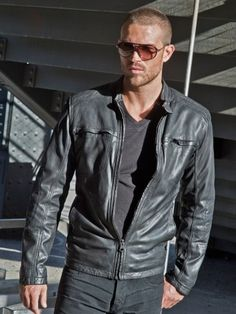 Fifty Shades of SEXY - Andrew Marc Warp Leather Jacket
