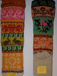Muhu sukad-sokid / Folk socks and stockings, island Muhu   par priithalberg