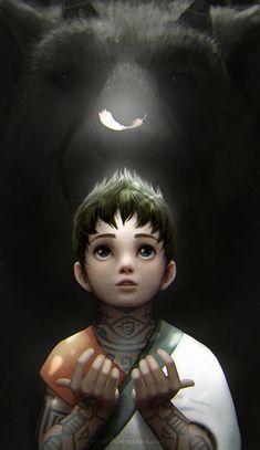 The Last Guardian by eloel on DeviantArt