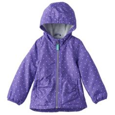 Toddler Girl OshKosh B'gosh Shirred Waist Lightweight Jacket ...
