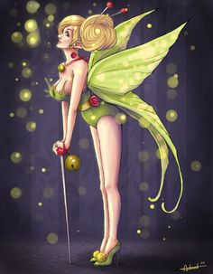 j. scott campbell tinkerbell | Tinkerbell by Amelie-ami ...