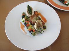 JHS /  Pollo e vitello con zucchina in farcia e  tapenade di olive Gino D'Aquino