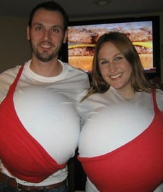 11 Funny Couples Costumes [Pictures] - Couples Costume Ideas    WE NEED TO BE THIS FOR HALLOWEEN. @Victoria Gallant