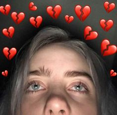 New memes heart billie eilish ideas Billie Eilish, Quotes Pink, Mode Ulzzang, Videos Instagram, Album Cover, Cute Love Memes, Image Editing, Reaction Pictures, Funny Videos