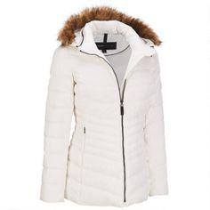 Web Buster Chevron Down Puffy Hipster w/ Faux-Fur Collar $169.99 …