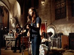 Pink Floyd - 16 June 1971 at the Abbey of Royaumont, France.