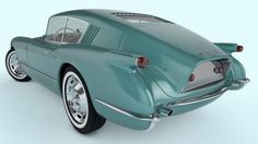 1954 Chevrolet Corvette Corvair Concept by SamCurry