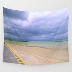 Moody Wall Tapestry by crismanart Wall Tapestries, Wall Hangings, Tapestry, Outdoor Walls, Indoor Outdoor, Tablecloths, Hand Sewn, Awesome, Amazing