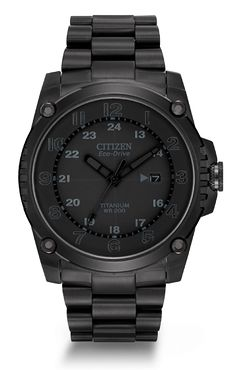 The Citizen Super Titanium is just that with a movement tested to be 2.5 times more shock resistant than its competitors.