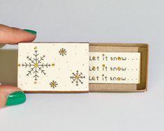 火柴盒-snow