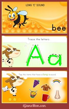 App went free: a fun phonics workbook for short and long vowels Learning Apps, Learning Activities, Learning Tools, Educational Technology, Educational Videos, Alphabet Activities, Kids Education, Phonics, Elementary Schools