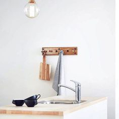 Upgrade your kitchen with beautiful hanger systems from danish Roon & Rahn  Shop them and get more inspiration at eniito.com
