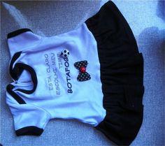 Como transformar roupa de bebe em roupa de cachorro Tutorial