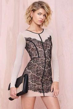 Chantal Lace Dress - Going Out