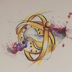 Time turner available for tattooing, message for details. (Also we will must…