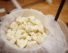 How to make squeaky cheese! @Kelly Scott, I still remember eating these with you way back when. :)