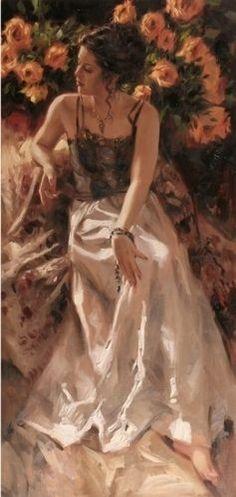 Richard Johnson, one of my favorite artists.  Beautiful, romantic artwork.