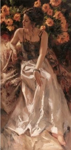 Richard Johnson, one of my favorite artists. Beautiful, romantic artwork.