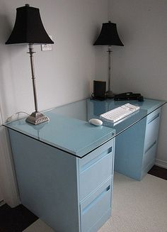 file cabinet desk.LOVE