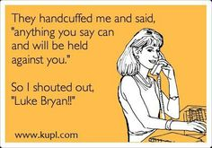 LOL... This is something I would totally do. That is, if I was the kind of girl that still gets in trouble with cops.
