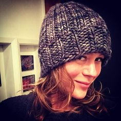 Big Chunky Comfy Hat by Erica Kempf Broughton, knitted by rawebb | malabrigo Rasta in Plomo