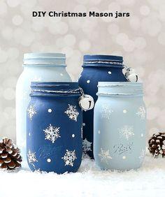 Fantastic Christmas Mason Jar DIY #masonjars #christmas