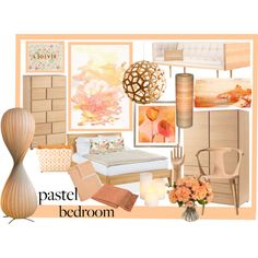 """""""A Sweet Pastel Bedroom"""" by tes-coll on Polyvore Pastel Bedroom, Interior Design, Sweet, Polyvore, Home Decor, Tes, Nest Design, Candy, Decoration Home"""